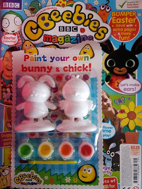Paint Your Own Bunny & Chick